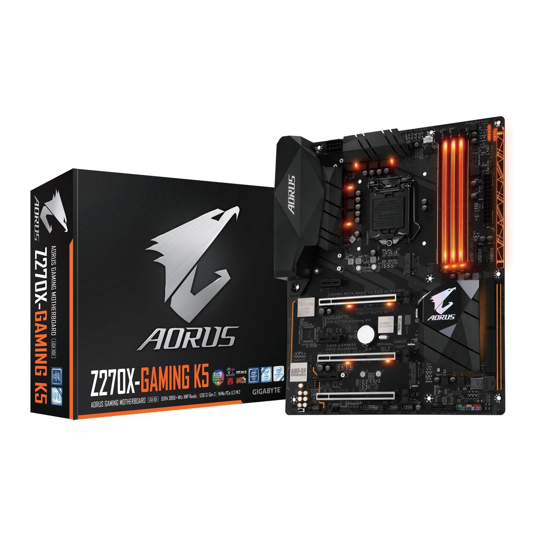 Gigabyte GA Z270X Gaming K5 Intel Z270 LGA1151 ATX Amazon Informatica