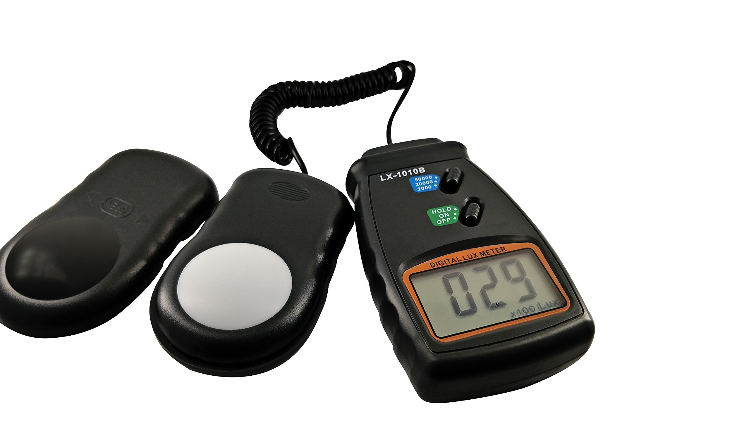 CityFarmer Light Meter, Digital Luxmeter, with LCD Display - Range up to 50,000 Lux, with Price Reduction, Great for Gardening, Farming, hydroponics, Indoor, Outdoor, one Year Limited Warranty by CityFarmer
