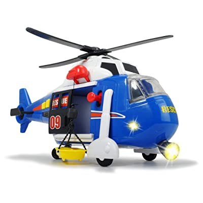Dickie Toys Light and Sound Helicopter: Toys & Games
