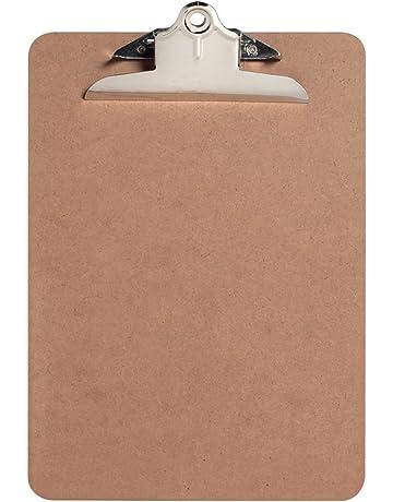 BASSK A4 presse-papiers tableau d/écriture Planchettes /à pince et porte-formulaires,Porte-Blocs Presse-Papiers