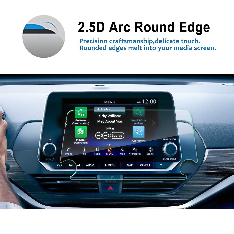 RUIYA 2019 Altima 8-Inch Car Navigation Tempered Glass