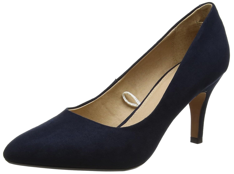 Lotus Zapatos de Vestir de Piel para Mujer Azul Azul