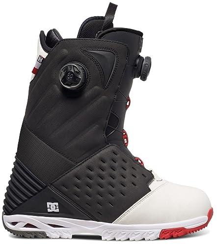 6145d54faaf DC Mens Torstein Horgmo Snowboard Boots, UK: 12 UK, Black/White/Red ...