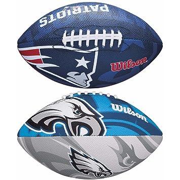 Wilson 2018 Superbowl Pack NFL - Balón de fútbol con Logotipo del ...
