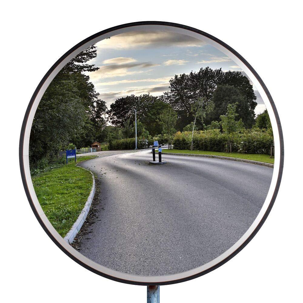 30cm Acrylique Miroir de S/écurit/é Surveillance Miroir Convexe pour la Surveillance de la Route Topwill Trafic Convexe Miroir