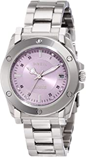 Breil Milano Womens TW0722 Manta Crystal Detailed Dial Screw Bezel Watch