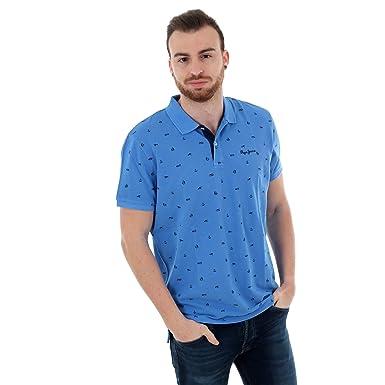 Pepe Jeans Polo Sergio Azul Hombre: Amazon.es: Ropa y accesorios