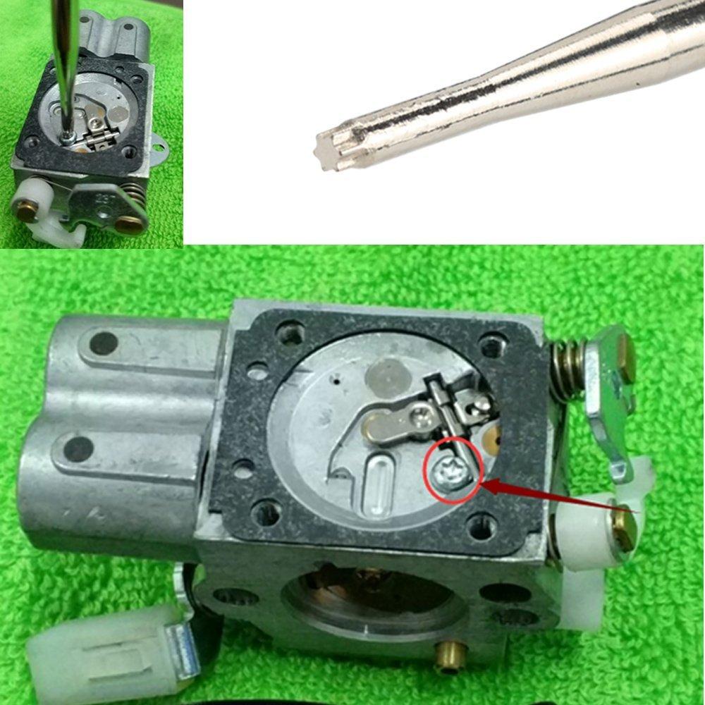 HIPA herramienta de ajuste de carburador destornillador con caja ...