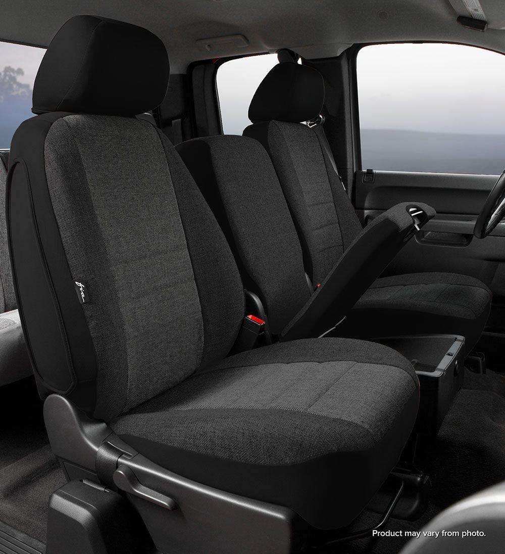 Fia OE37-30 GRAY Custom Fit Front Seat Cover Split Seat 40//20//40 Tweed, Gray