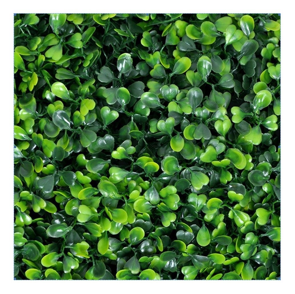 e-joy 12 Piece Artificial Topiary Hedge Plant Privacy Fence Screen Greenery Panels Suitable for Both Outdoor or Indoor, Garden or Backyard and Home Decorations, Boxwood 20'' L x 20'' H by e-joy