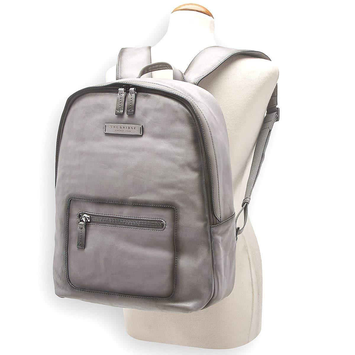 02b01d58f2 Zaino Porta Pc | The Bridge Pelle Freestyle | 0647273V-Nero/Canna di  Fucile: Amazon.co.uk: Luggage