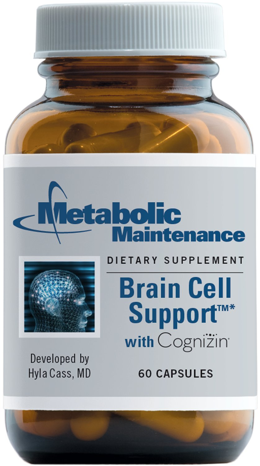 Metabolic Maintenance - Brain Cell Support - Nutrient + Herbal Cognitive Support, 60 Capsules