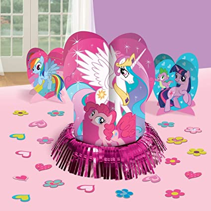 Amazon My Little Pony Party Table Decorations Kit Centerpiece 23 PCS