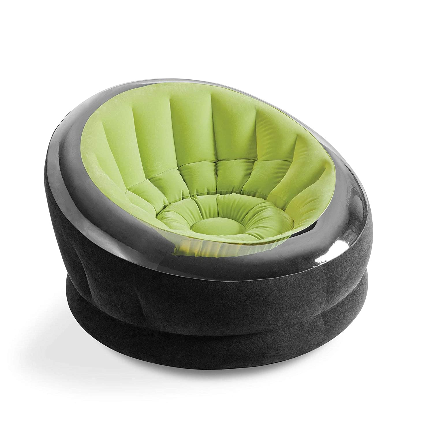 Incredible Amazon Com Intex Empire Inflatable Lounge Chair Green Onthecornerstone Fun Painted Chair Ideas Images Onthecornerstoneorg