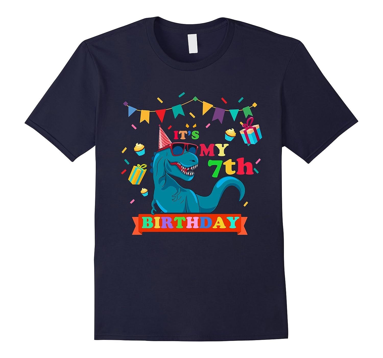 Its My 7th Birthday Boy T Shirt Dinosaur ANZ