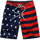Amazon Price History for:Kute 'n' Koo USA American Flag Big Boy's Swim Shorts, Patriotic Swim Trunks, Quick Dry Boys Bathing Suits