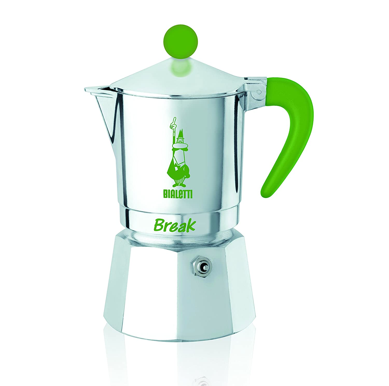 Bialetti 5941 Espressokocher Break 1 Tasse, Aluminium