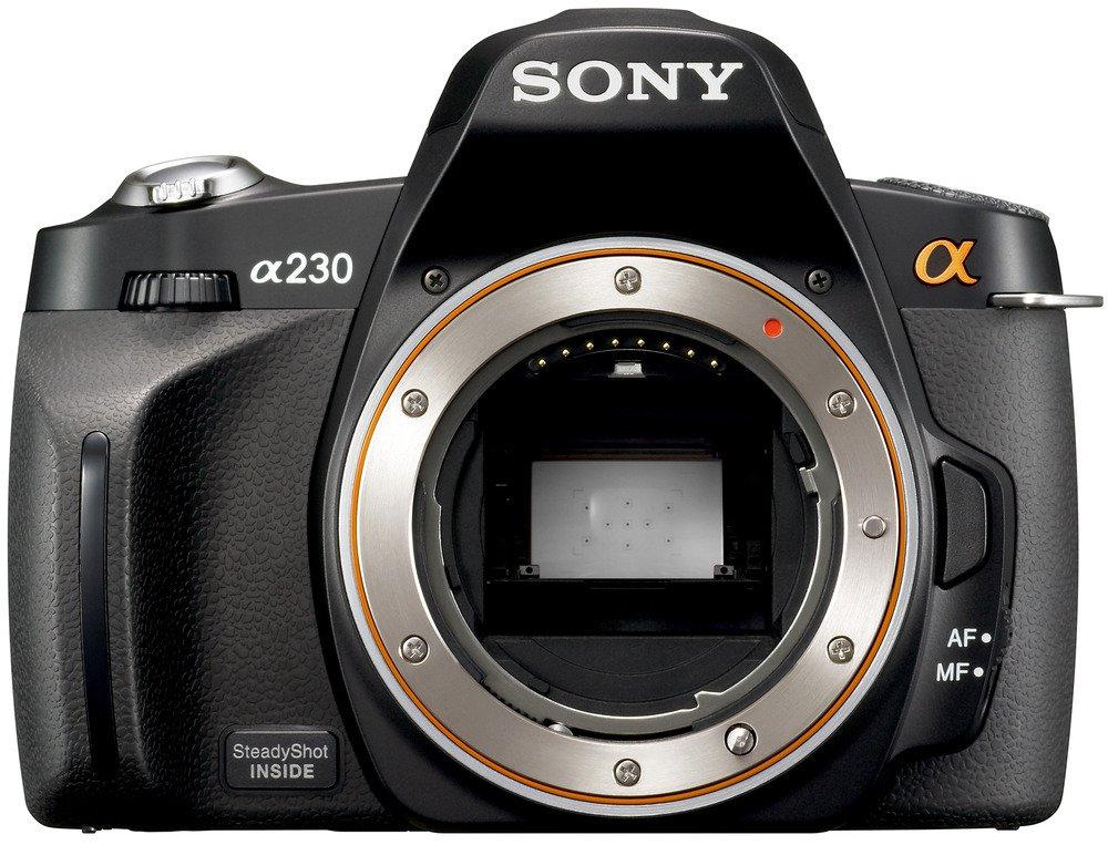 ソニー SONY デジタル一眼レフカメラ α230 (本体単品) ブラック DSLRA230   B002AROQME