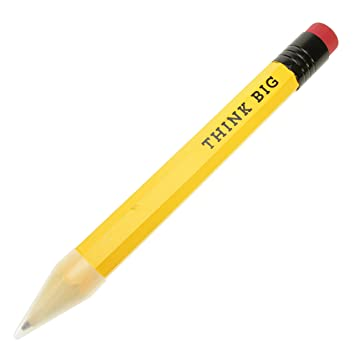 giant office supplies. Donkey Products Pencil Think Big XXXL, Pencil, Giant Stationery, Yellow Office Supplies