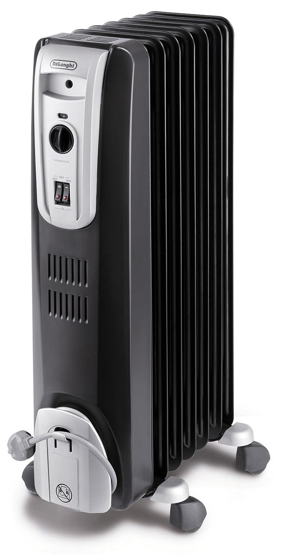 DeLonghi KH 770715 Black - Radiador con 7 costillas calefacción Negro: Amazon.es: Hogar
