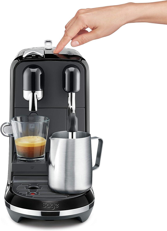 Sage Appliances SNE500BKS the Creatista Uno - Máquina de café espresso, color negro: Amazon.es: Hogar