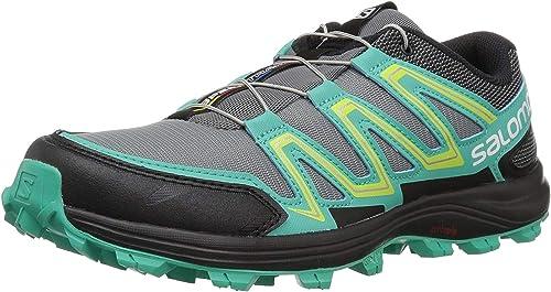 Salomon Speedtrak W, Zapatillas de Trail Running para Mujer, Gris ...