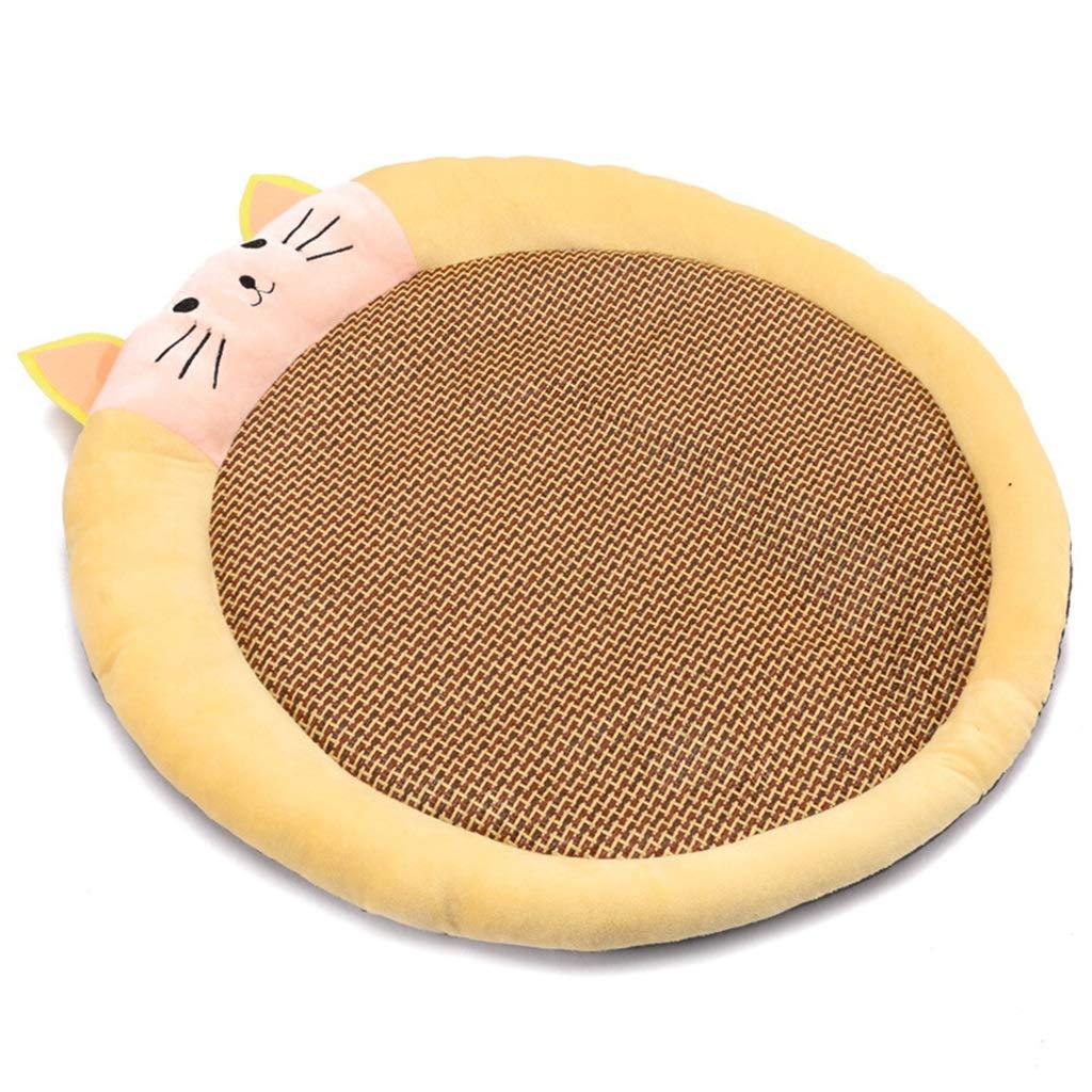 68cm68cm12cm DSADDSD Pet Bed Kennel Cat Litter Mat Round Nest Comfortable And Durable Pet Bed Supplies (Size   68cm68cm12cm)