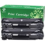 GREENSKY 2 Pack Compatible Replacement HP CF283A 83A High Yield Toner Cartridge For HP LaserJet Pro MFP M125nw M125rnw m127 M127fn M127fw M126 M128fn M201dw M201n M225dw M225dn