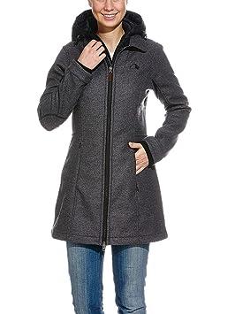 Tatonka Selie Abrigo para Mujer, otoño/Invierno, Mujer, Color Gris - Castle Grey, tamaño 42 [DE 40]: Amazon.es: Deportes y aire libre