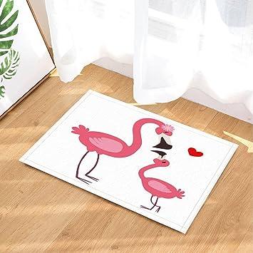 Chirld Bad Teppiche Von Gohebe Pink Flamingo Mutter Und Baby