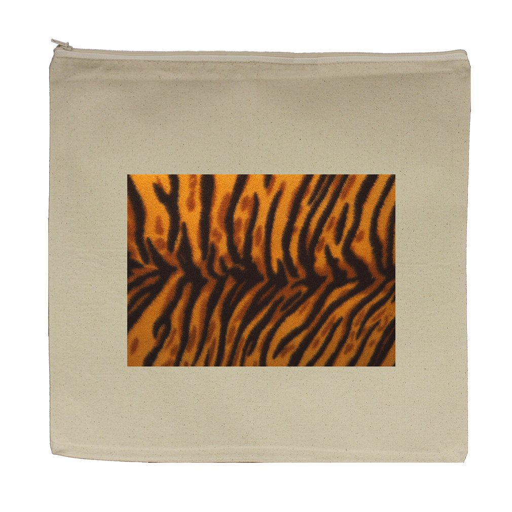 Canvas Zipper Pouch Tote Bag 5.5''X7.5'' Leaopard Animal Style In Print