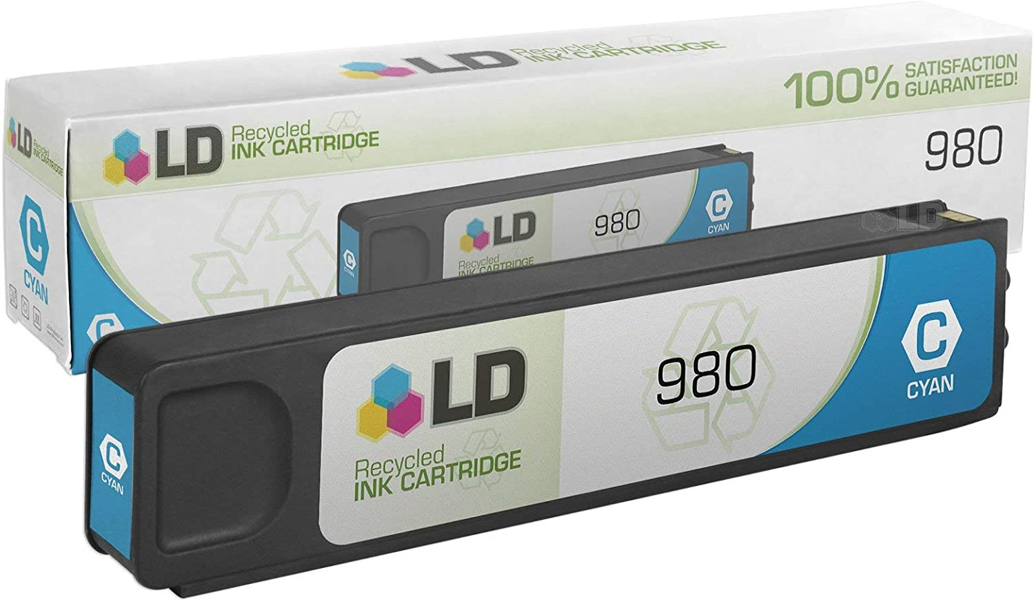 LD Remanufactured Ink Cartridge Replacement for HP D8J07AHP 980 ( Cyan , 1 pk )
