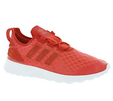 53658cd6253a5 adidas Zx Flux Adi Verve Trainers Red  Amazon.co.uk  Shoes   Bags