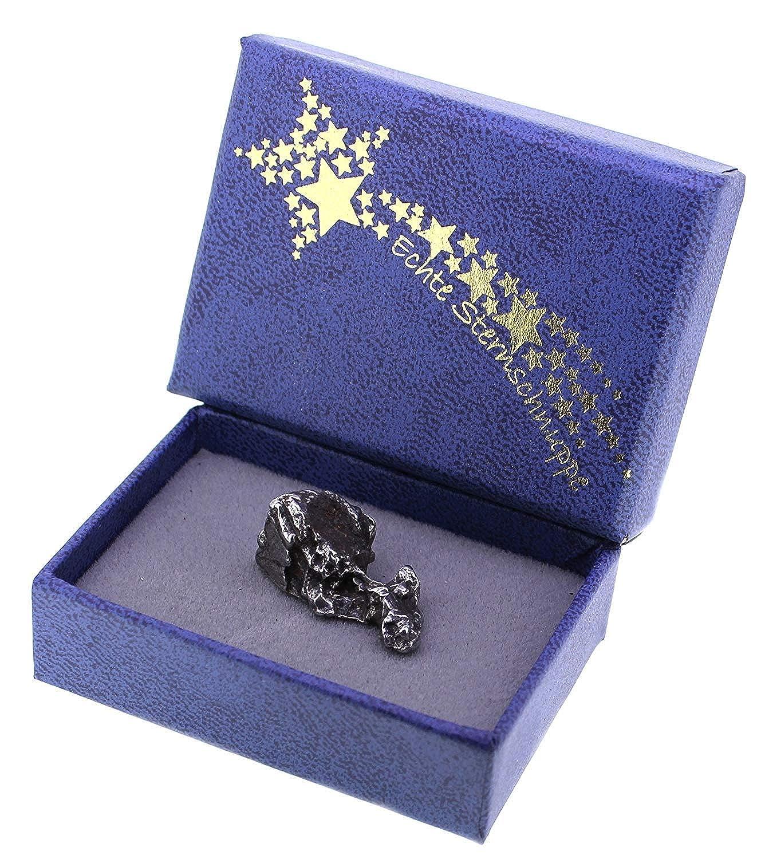 Sternschnuppe (Meteoriten) mit Echtheits-Zertifikat in Geschenk-Box, Taschenstein aquasensishop CO147742