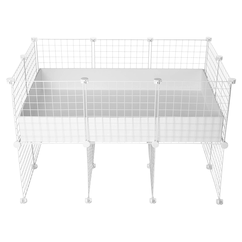 CagesCubes - Jaula CyC Cavy UP (Base 2X3 - Panel Blanco) + Base de ...