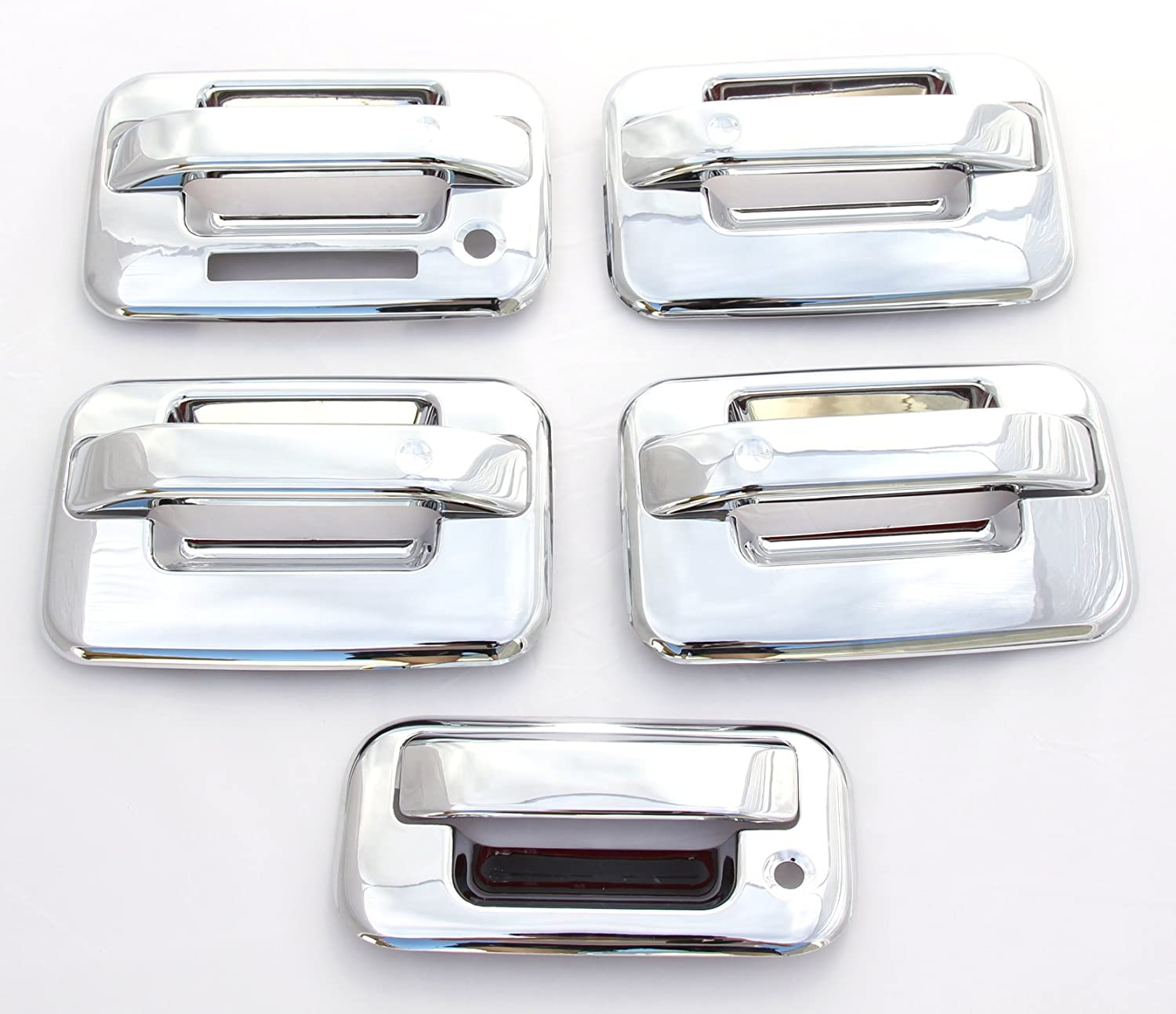 07-12 Dodge Caliber Chrome Door Handle Cover Trim Set 4 Door 4DR Shipped In USA