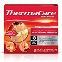 ThermaCare Advanced Back Pain (L-XL Size) and Neck Pain Combo Pack (8 Back Wraps...
