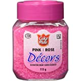 Cake Mate, Decorating with Ease, Decors Sugar, Pink, 113g