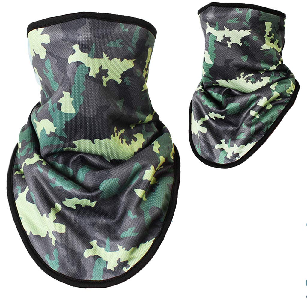 55x32cm Unisex Outdoor Triangle Scarf Colorful Face Mask Graffiti Camouflage Skeleton Printing Motorcycle Cycling Bandana Neck W Apparel Accessories