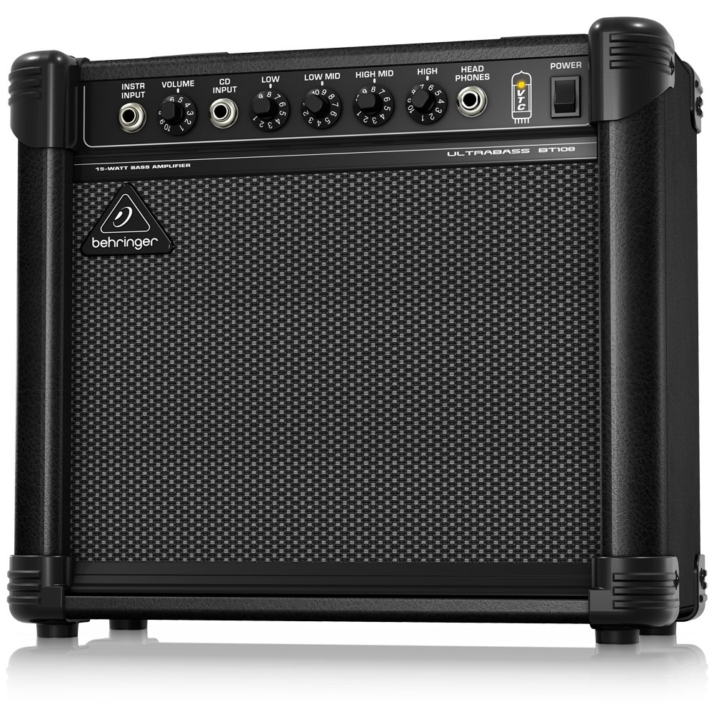 Ultra-Compact 15-Watt Bass Amplifier with VTC-Technology, 8 Speaker 8 Speaker Behringer BT108