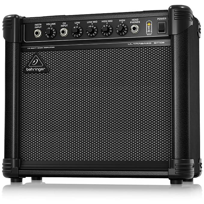 Remarkable Amazon Com Behringer Ultrabass Bt108 Musical Instruments Wiring Database Ittabxeroyuccorg