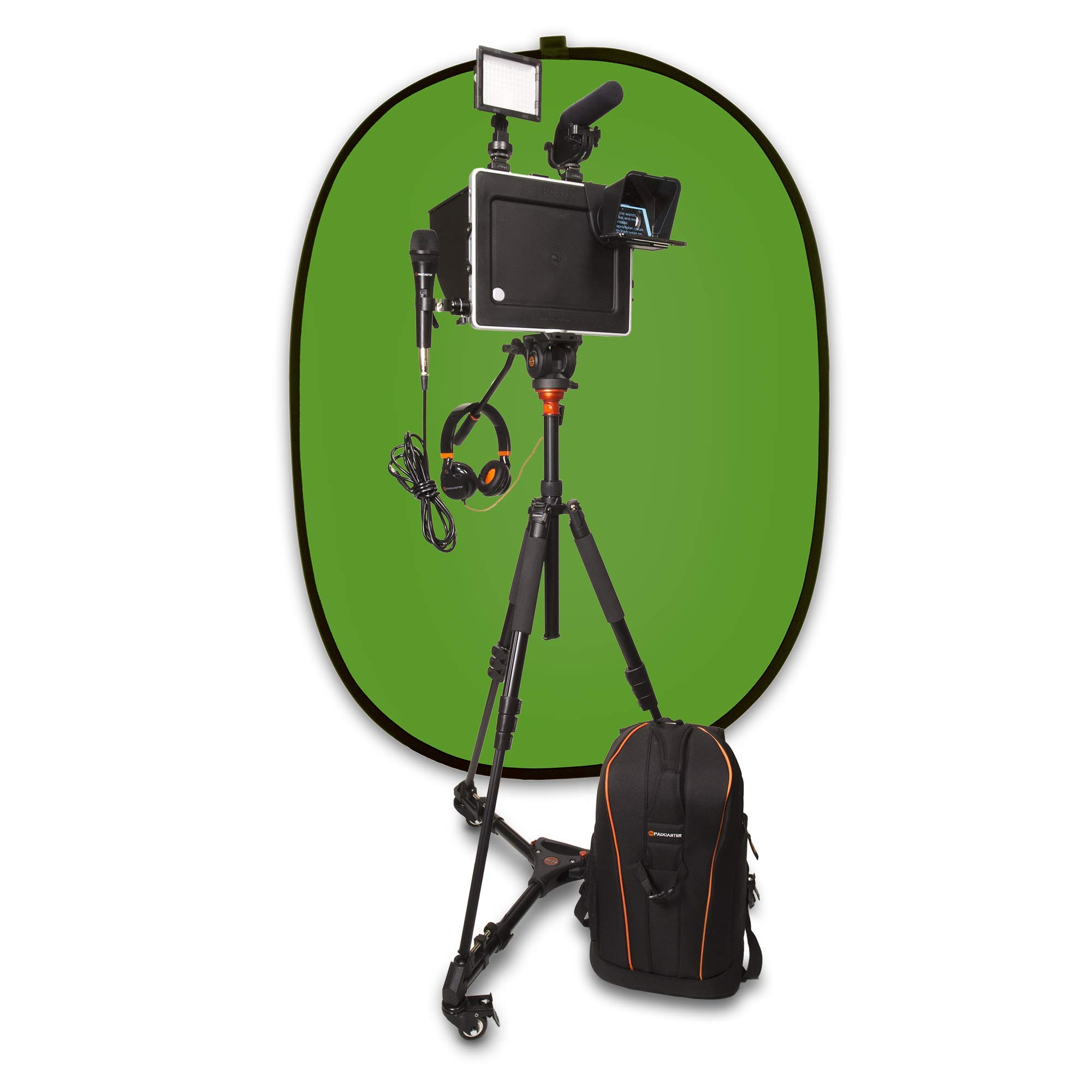 The Padcaster Studio, Full Video Production Studio for iPads by PADCASTER