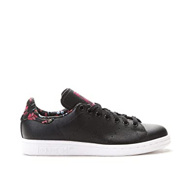 adidas Originals Stan Smith, Sneakers Basses femme - Noir - Schwarz (Core Black/