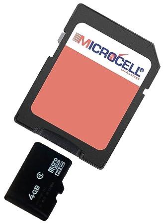 Microcell - Tarjeta de memoria Micro SD de 4GB con adaptador ...