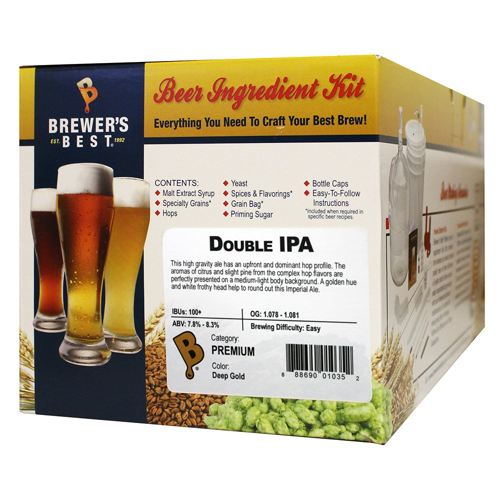 Brewer's Best Double IPA Beer Ingredient Kit by Brewer's Best