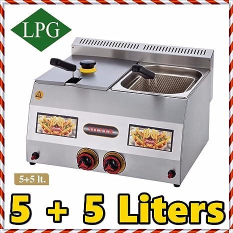 Amazon.com: Propano (GLP) Gas Comercial Equipo De Cocina 10 ...