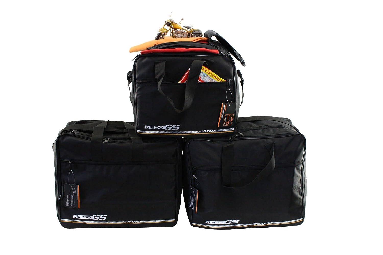m4b Promotion: BMW R1200GS-LC (K51) à partir de 2014 ( R1200 GS LC ): Poches intérieures / sacs intérieurs pour valises latérales -- ensemble complet -- per valigie in alluminio CHB-IuV