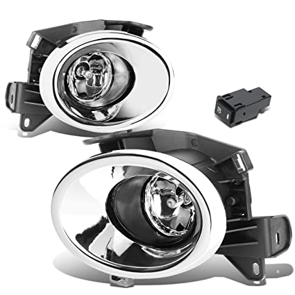 amazon com for nissan pathfinder r52 pair of chrome cover clear Dodge Ram 1500 Fog Light Wiring