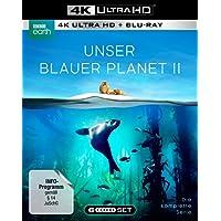 """UNSER BLAUER PLANET II - Die komplette ungeschnittene Serie zur ARD-Reihe """"Der blaue Planet""""  (3 Blu-ray-4K Ultra HD + 3 Blu-ray-2D)"""