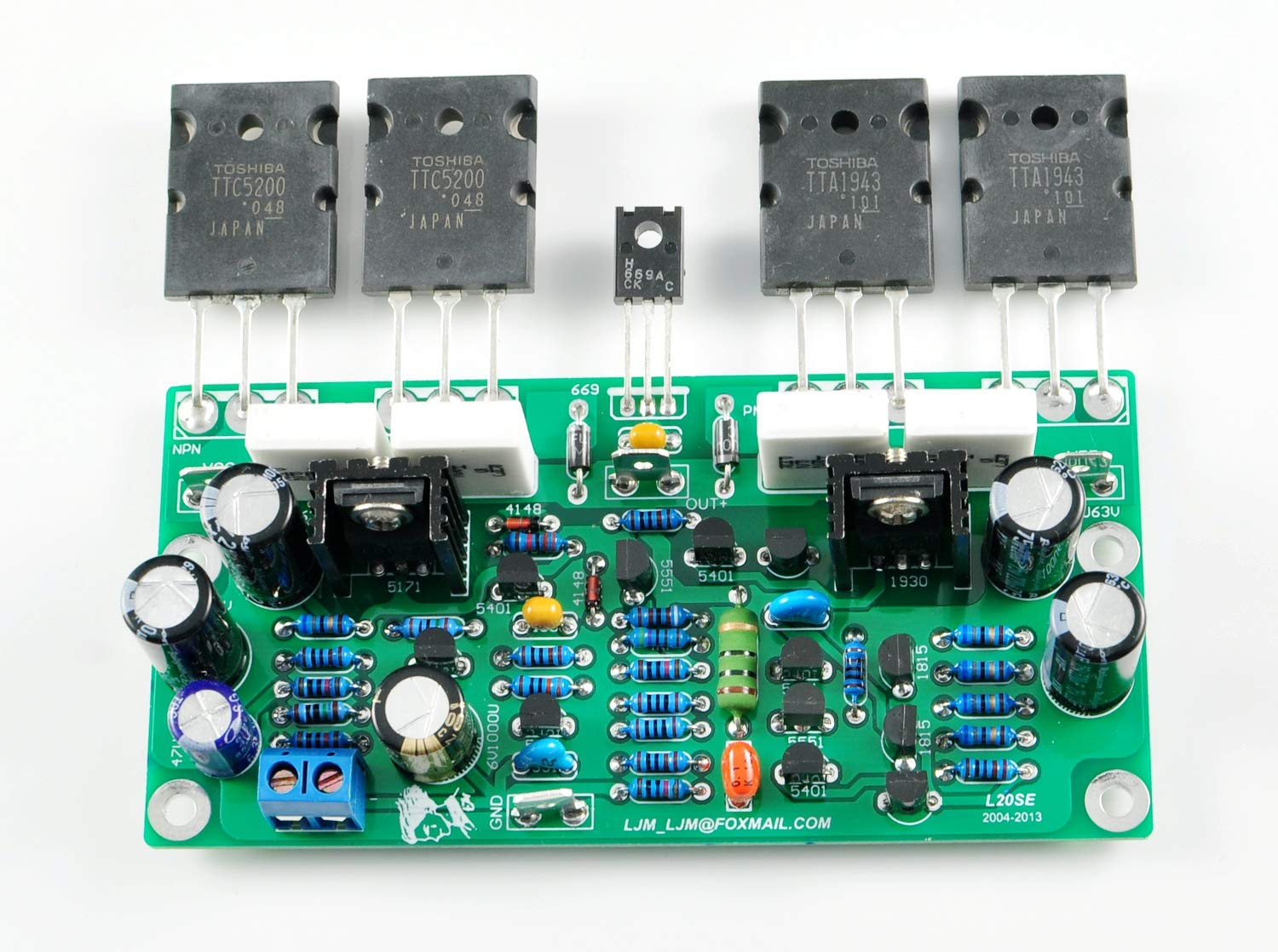 2sc5200 2sa1943 Amplifier Board